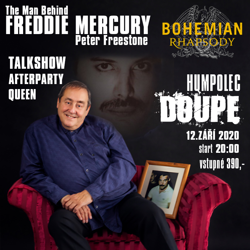THE MAN BEHIND FREDIE MERCURY – PETER FREESTONE & MILAN DEVINNE