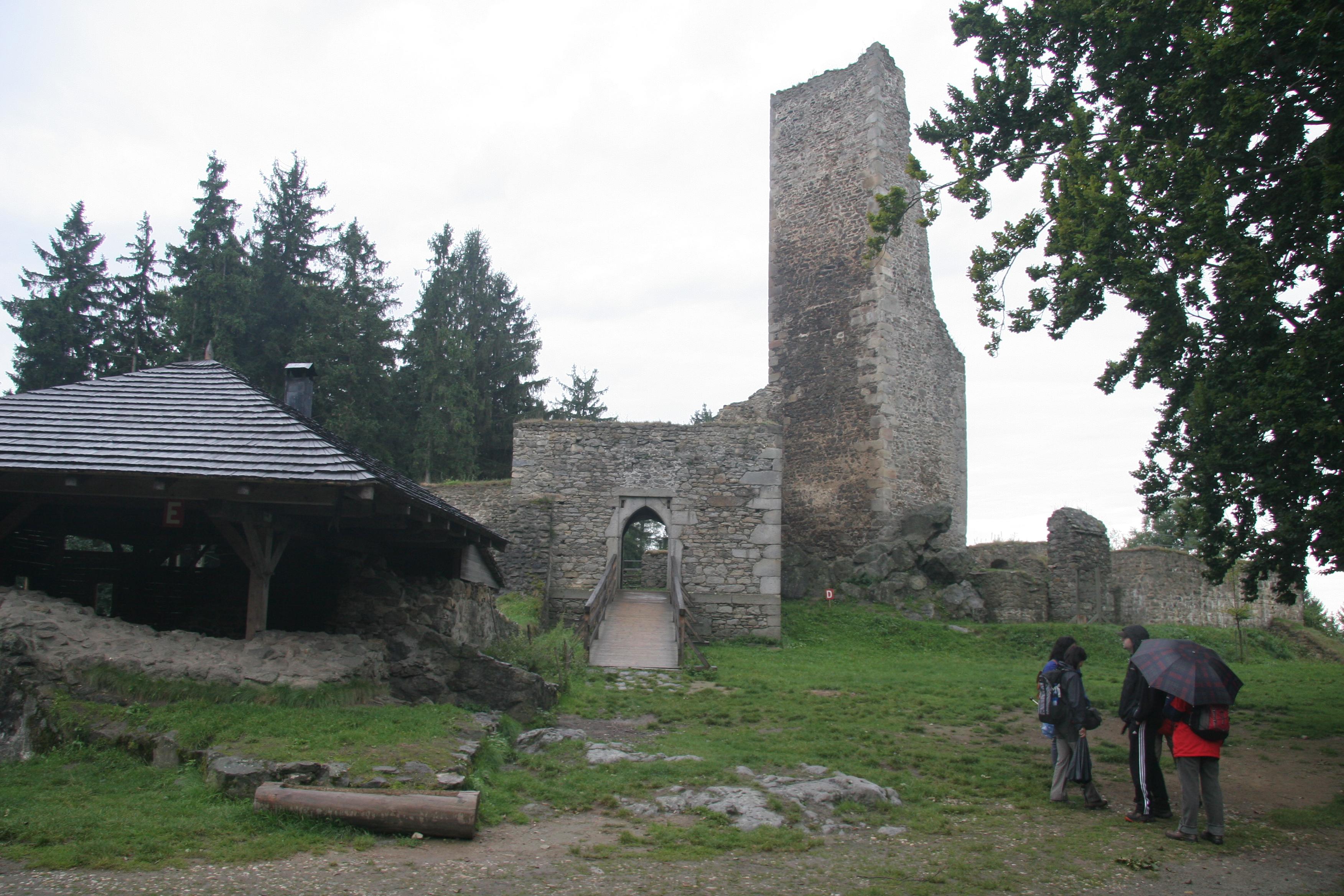 Středověká tvrz v Proseči