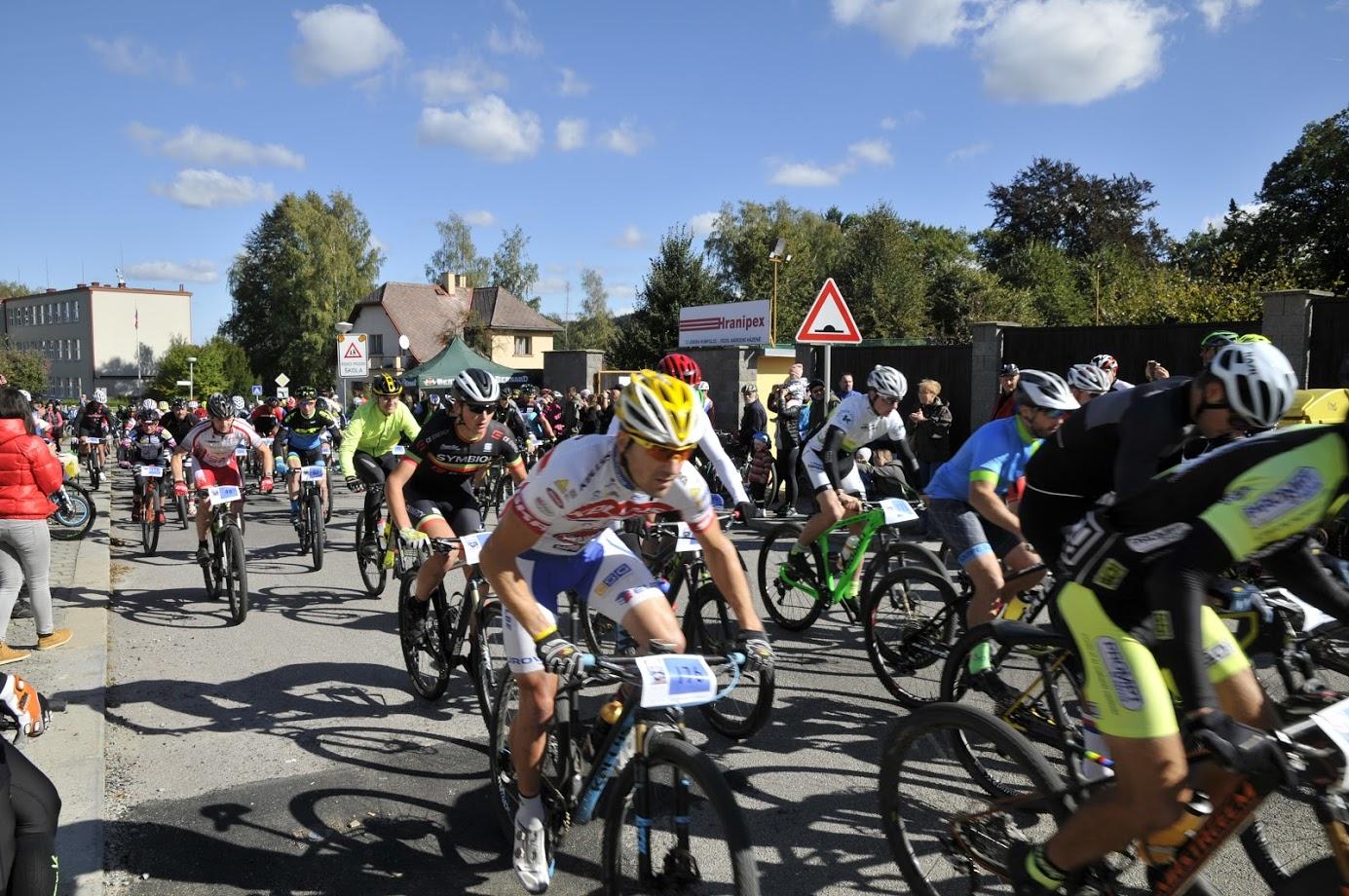 Humpolecká 50 se blíží. Cyklisté se vydají na trasu v okolí hradu Orlík