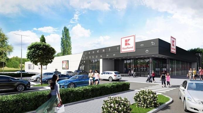 Začala plánovaná výstavba supermarketu