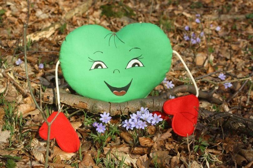 Zelené srdce pod střechou