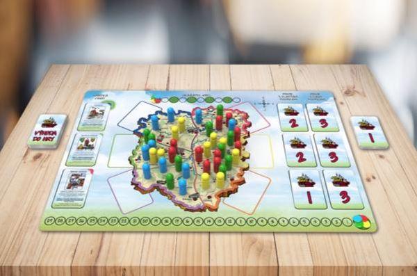 Nová desková hra díky EU projektu na všech školách na Humpolecku
