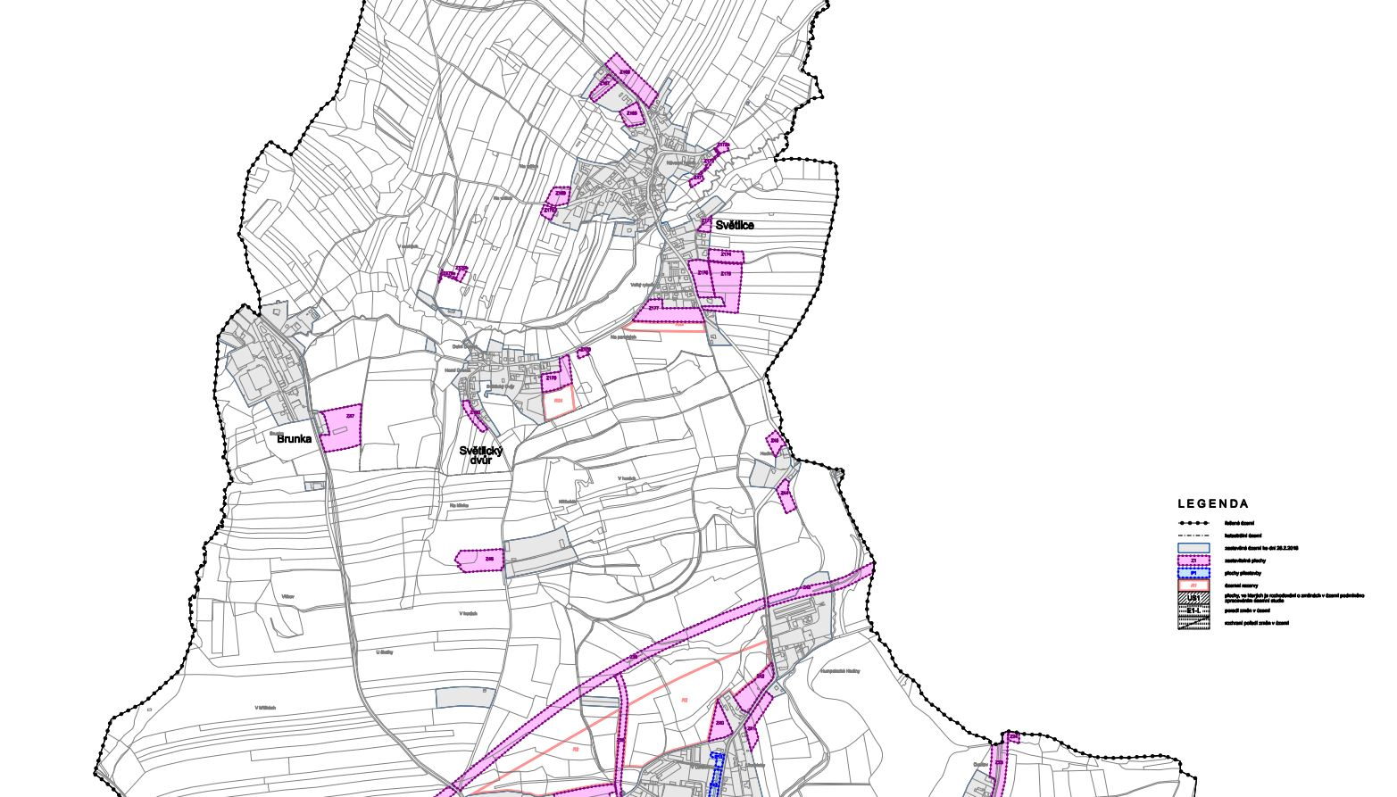 Územní plán Humpolec – úplné znění po vydání změny č. 5