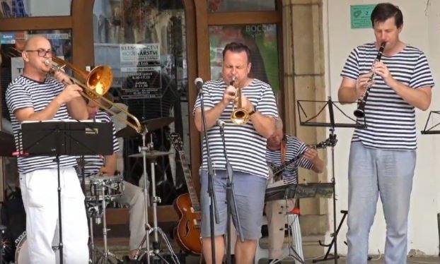 Promenádní koncert – The Old Steamboat Jazz band